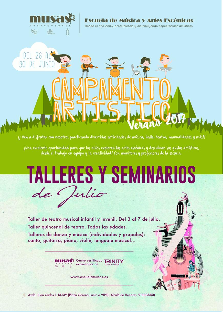 cartel campamento musas_V2