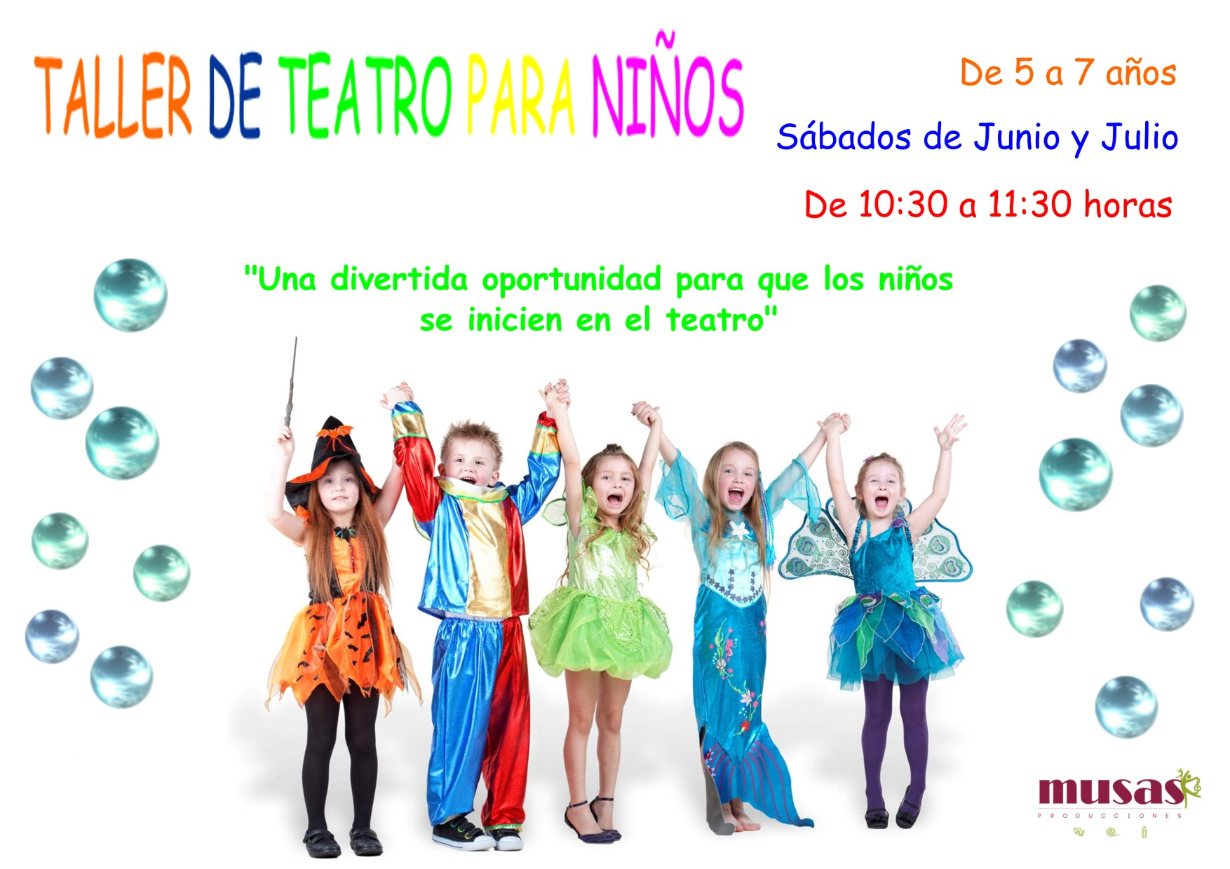 taller teatro niños
