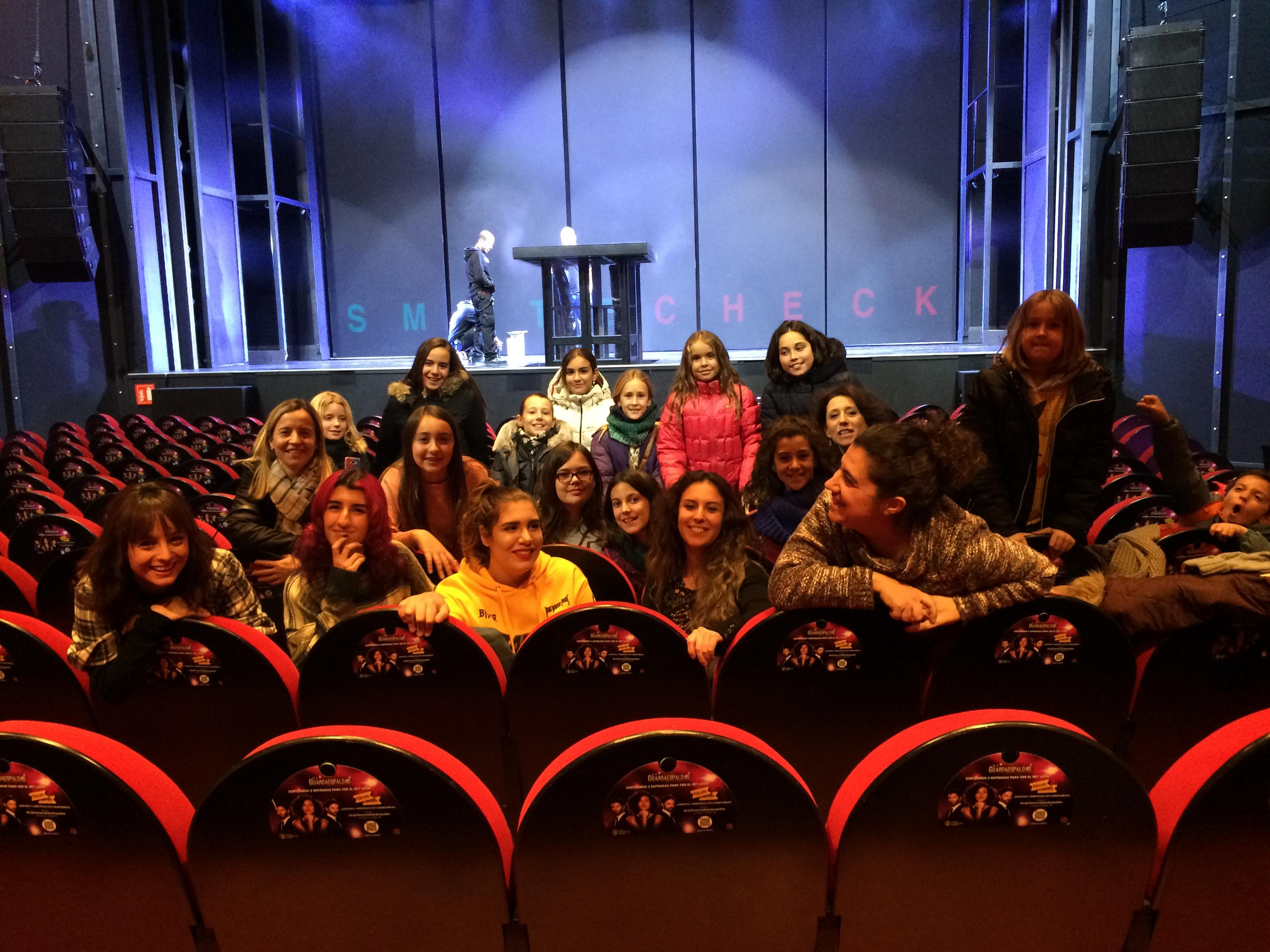 interior teatro El Guardaespaldas IMG_3307